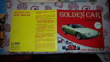 ALBUM PER FIGURINE GOLDEN CAR - BAGGIOLI - FIGURINA CLUB - 1985