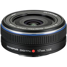 Olympus M.Zuiko Digital 17mm f/2.8 Lens Micro Four Thirds - Black