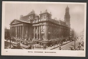 Postcard Manchester Lancashire the Royal Exchange early RP Grosvenor