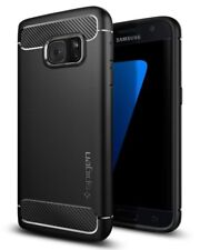 Custodia Spigen Ultra Rugged Armor per Samsung Galaxy S7 - Nera