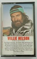 Willie Nelson Cassette Always On My Mind 1982 Columbia Records Tape