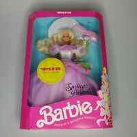 1991 Barbie Spring Parade Toys R Us Limited Edition Vintage NIB Brush Is Loose