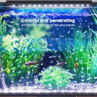 Remote Control LED Air Bubble Light RGB Submersible Aquarium Fish Tank Lamp CO