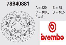Disco freno BREMBO Serie Oro ANT Triumph 1050 TIGER 07 > 11