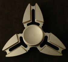 Fidget Spinner Gold Triangle Metal Finger Toy EDC Focus ADHD Autism SHIPS USA
