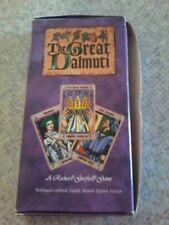 THE GREAT DALMUTI Card Game 2° English Edition Wizard of The Coast - LIKE NEW!