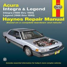 Haynes Repair Manual: Acura : Integra and Legend 1986-1990 by John Haynes and...