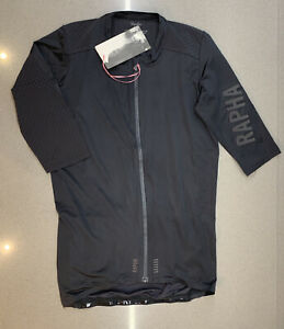 Rapha Pro Team Aero Jersey Black Size Medium Brand New With Tag