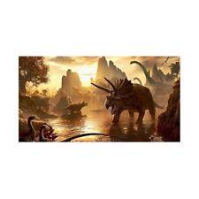 D78543 - Dinosauri Ostia Decorazione Torta Cialda Bambini Festa Compleanno Party