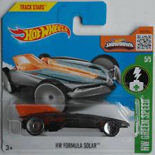 HOT Wheels-HW formula Solar Nero/Arancione Nuovo/Scatola Originale