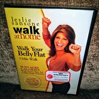 Leslie Sansone: Walk at Home: Walk Your Belly Flat - 3 Mile (DVD) SEALED! NEW!