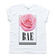 Hip Length Short Sleeve T-Shirts Unbranded Tumblr for Women