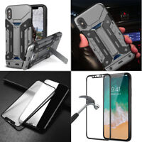 Apple iPhone X/8/7 Plus 6s 6 Tough Shockproof Armor Hybrid Protective Case-Men