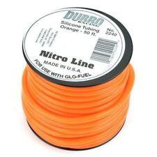 Dubro Products - 50' Nitro Line Silicone Fuel Tubing, Orange