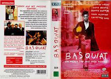 """VHS - """" BASQUIAT - Ein wilder Trip mit Andy Warhol """" (1996) - Jeffrey Wright"""