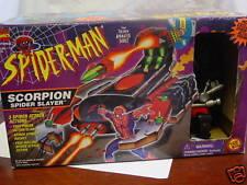 """MARVEL COMICS TOYBIZ SPIDERMAN """"SCORPION  """"BOXED"""