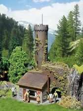 NEW ! HO Faller 130291 Castle Ruins Observation Tower KIT