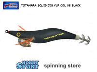 TOTANARA SQUID JIG VLP COL 08 BLACK  MIS 2,5 NEW MODEL SEIKA TUBERTINI