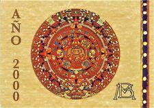 2000 Mexico Uncirculated Coin Set with Official Aztec Calendar