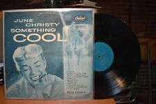 June Christy Something Cool LP Capitol T516 Mono