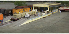 Walthers Cornerstone HO Scale Building/Structure Kit Open Air Transload Building