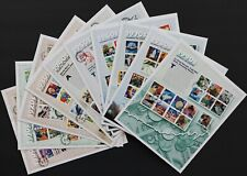 U.S. Used #3182 – 3191 Celebrate the Century Set - 10 Sheets on First Day Covers