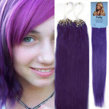 Micro Ring Beads Loop Tip Real Brazilian Remy Human Hair Extensions 50gr 100g 7A