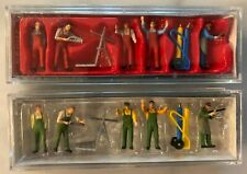 Free Shipping - Preiser #10243 Bundle Ho Scale Craftsmen Figures & Accessories