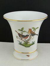 schöne Porzellan-Vase Herend Rothschild