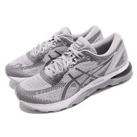 Asics Gel Nimbus 21 Grey Silver Men Running Training Shoes Sneaker 1011A169-020