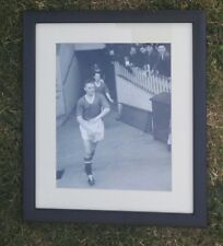 "ALBERT SCANLON - MANCHESTER UNITED 1958 SIGNED  PHOTOGRAPH - FRAME 13"" x 11"""
