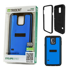 Trident Cyclops Tough Protection Brute Strength case Samsung Galaxy S5 Blue
