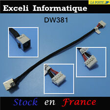 Connector alimentation Dc Power jack cable HP EliteBook 8760W 6017B0295901