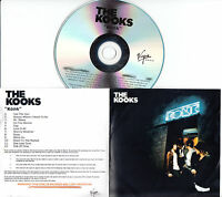 THE KOOKS Konk UK 12-trk numbered/watermarked promo test CD sealed