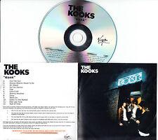THE KOOKS Konk UK 12-trk numbered/watermarked promo test CD