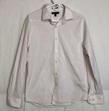 Banana Republic Mens Slim Flex Fit Tech Stretch Cotton Dress Shirt Size M