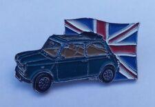 MINI CAR BRITISH OPEN CLASSIC RACING GREEN PIN BADGE
