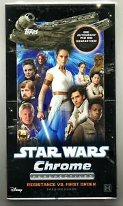 2020 STAR WARS CHROME PERSPECTIVES RESISTANCE VS. FIRST ORDER SEALED HOBBY BOX