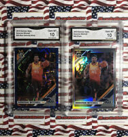 Donavon Mitchell Optic Holo And Blue Velocity GMA 10 LOT! GEM MINT! Invest! HOT!