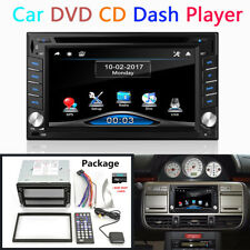 "6.2"" HD 2Din Stereo DVD CD Dash Player GPS Navi Radio USB FM/AM w/ Free 8G Maps"