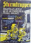 EUREKA POCKET STURMTRUPPEN N.12 CORNO BONVI 1982 FUMETTO