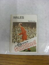 1970/1971 Esso: Squelchers - 13 Wales, An Esso Mini-Book 16 Issued In Complete S