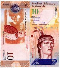 VENEZUELA Billet 10 BOLIVARES 2011 P90 HIBOU UNC NEUF