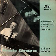 "RENATO CAROSONE serenatella sciuè sciuè +3 brani 7""EP 1957 Pathé 45E-GQ534"