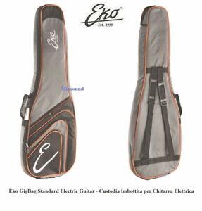 Eko Gig Bag Standard Borsa Custodia Imbottita 10mm per Chitarra Elettrica