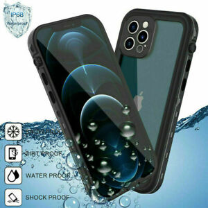 Full Body 360 Waterproof Shockproof Case Cover for iPhone 11 12 Pro max 12 mini