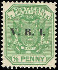 Scott # 202 - 1900 - ' Pietersburg Issue ', Ovpt VRI In Black