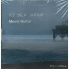 AT SEA JAPAN / MEETS GUITAR Split Single CD UK 2 Track Happy Seeing Twos By At
