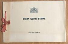 Burma: Ministerbuch anlässlich des 14. UPU Kongresses in Ottawa, Kanada, 1957