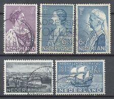 Nederland  265 - 269 gebruikt (4)